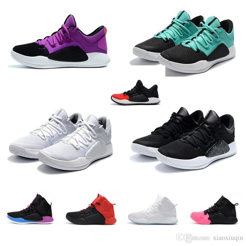da29691cdf96 2019 Cheap Mens Hyperdunks Low Basketball Shoes For Sale Black Blue Purple  Red New Arrival HD 2018 Hyperdunk X Sneakers Boots Tennis With Box From ...