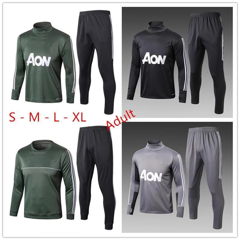 995ecd789 Soccer Training Suit Soccer Wear a Tracksuit Aduit 17-18 Chandal ...