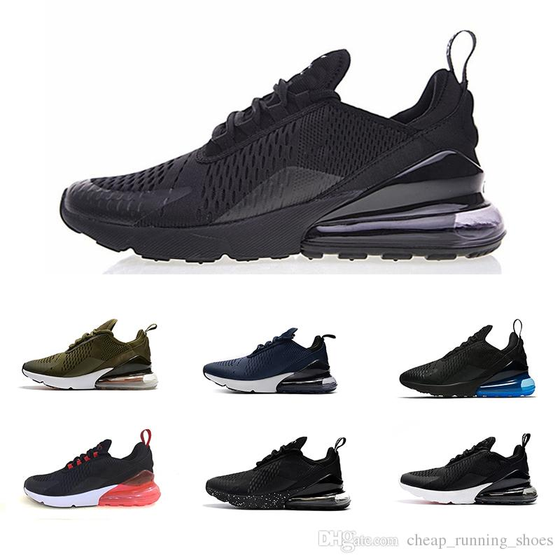 2cd9d00a13d Cheap Newest 270 Teal Running Shoes Navy Mens Flair Triple Black Trainer  Sports Shoe Medium Olive Bruce Lee Women 270s Photo Blue 36-45