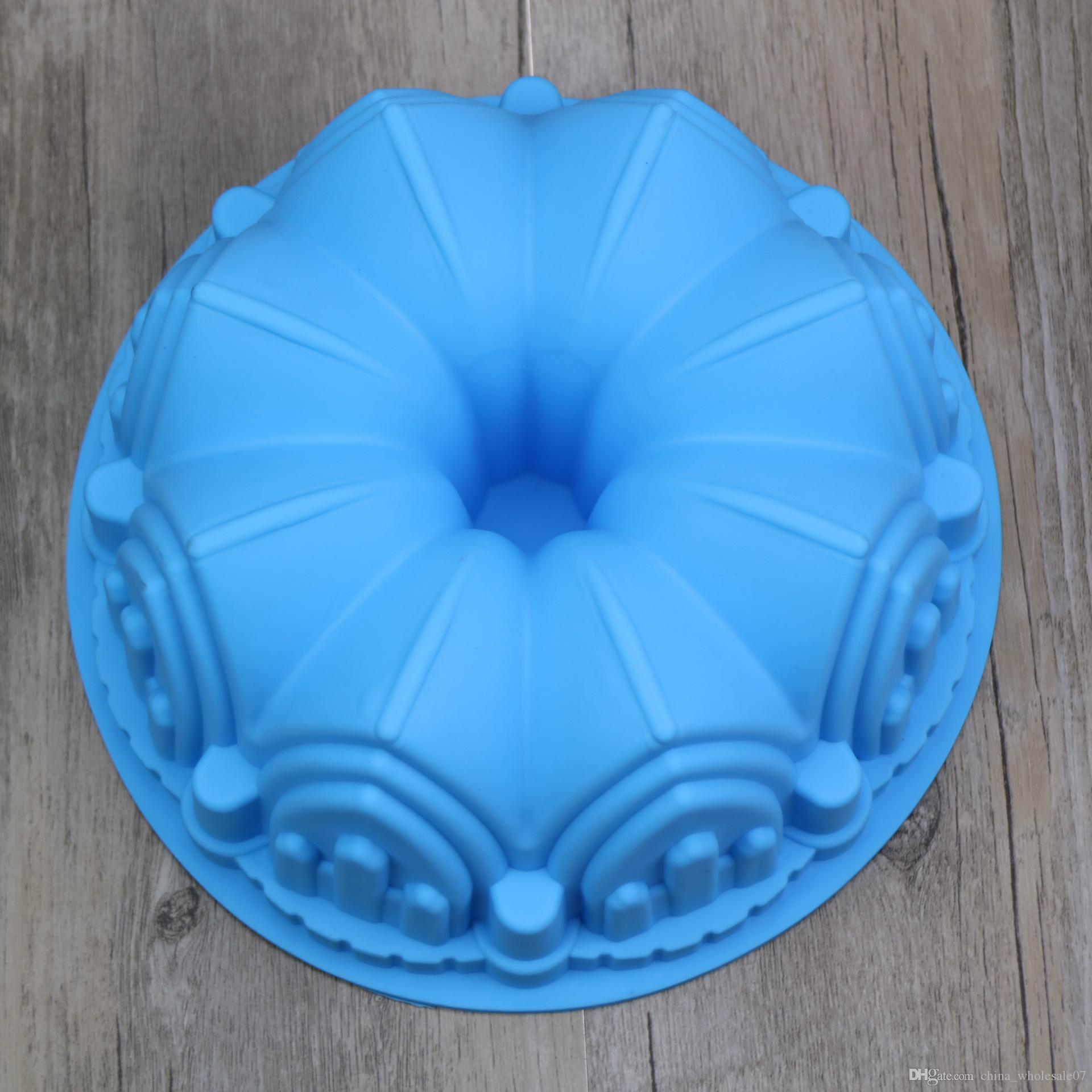 2018 Big Crown Silicone Cake Mold 3d Birthday Cake Decorating Tools