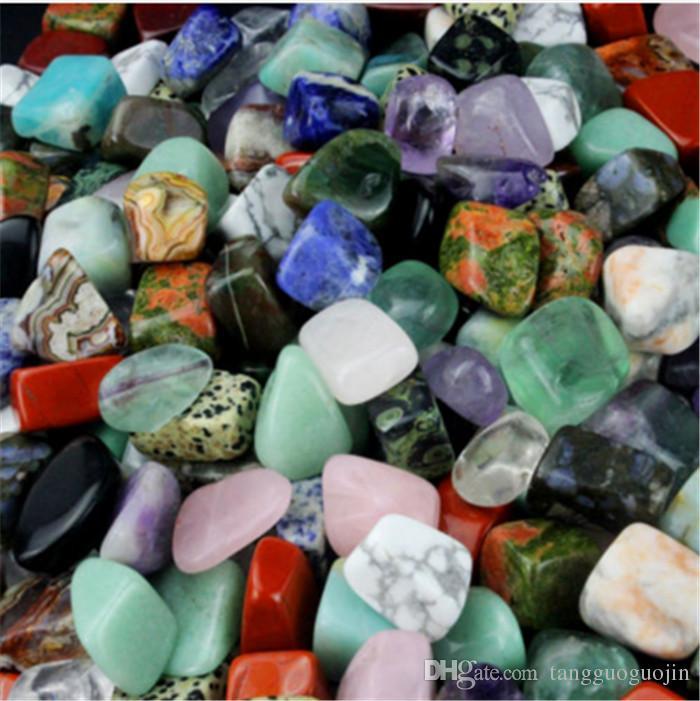 200 г ассорти упал драгоценный камень смешанные камни природные Радуга аметист авантюрин красочные рок минеральный агат для исцеления чакры рейки