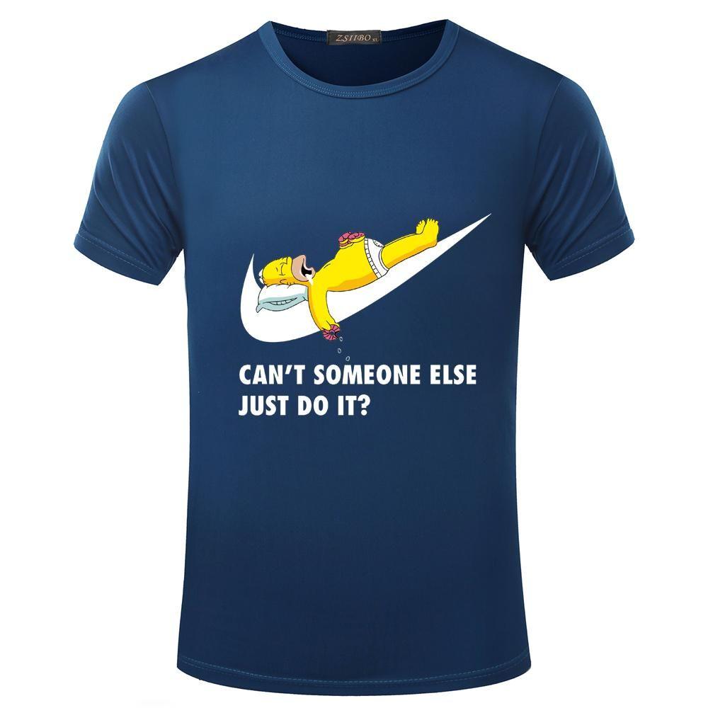 2e871a31d9b3 Wholesale- ZSIIBO TX142 TX143 Printed Just Break It Men s T-shirt ...