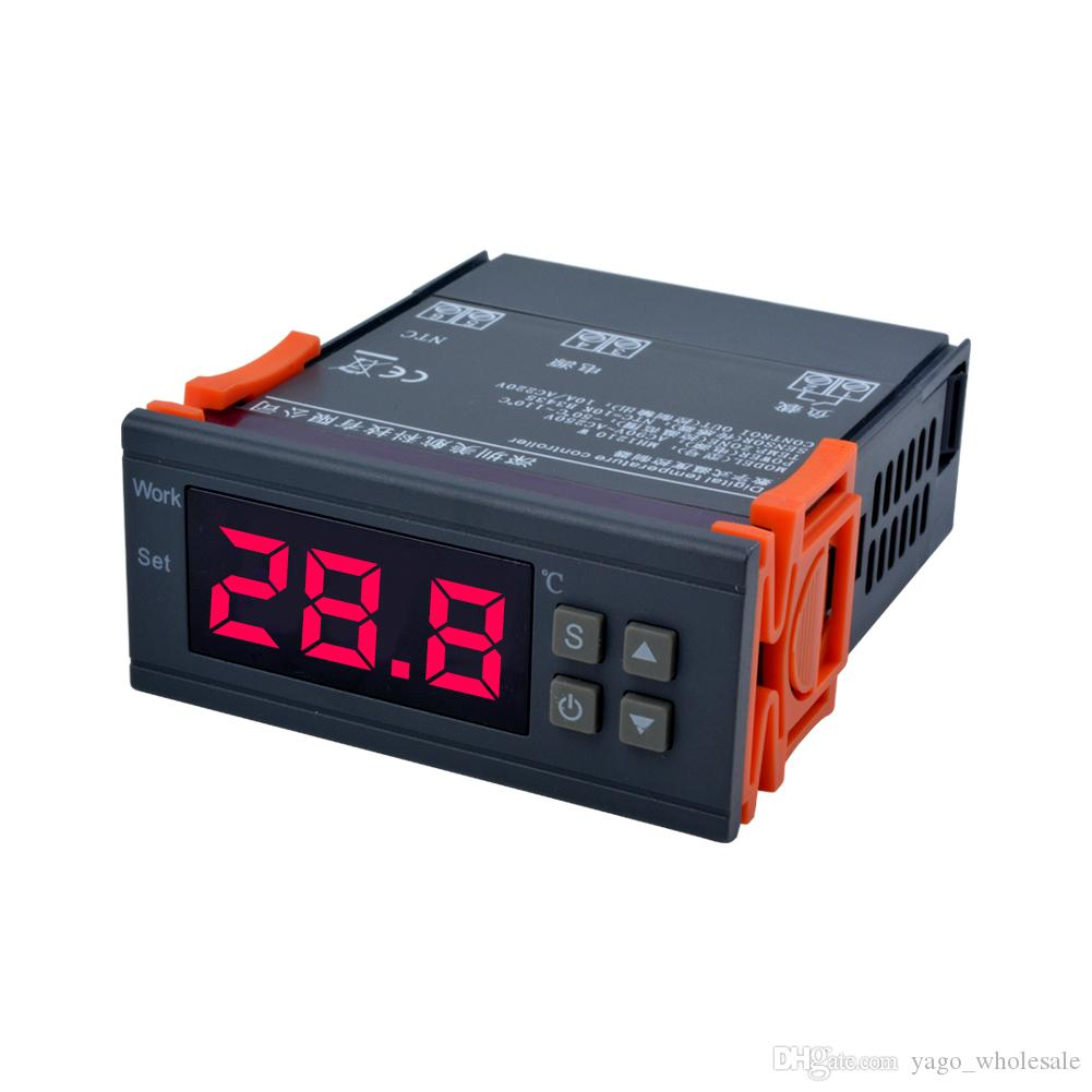 Digital Temperature Control: 2019 YIERYI MH1210W Digital Temperature Controller AC90