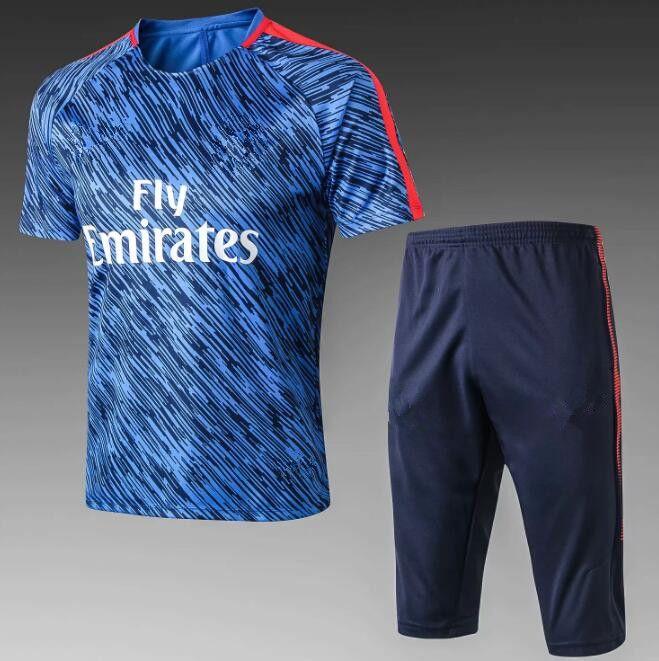 outlet store 3715b f4f46 Best quality 2018 Soccer Jerseys 10# MBAPPE CAVANI Jerseys DI MARIA  VERRATTI DANI ALVES Shirt Middle Pants Football Uniforms Kits