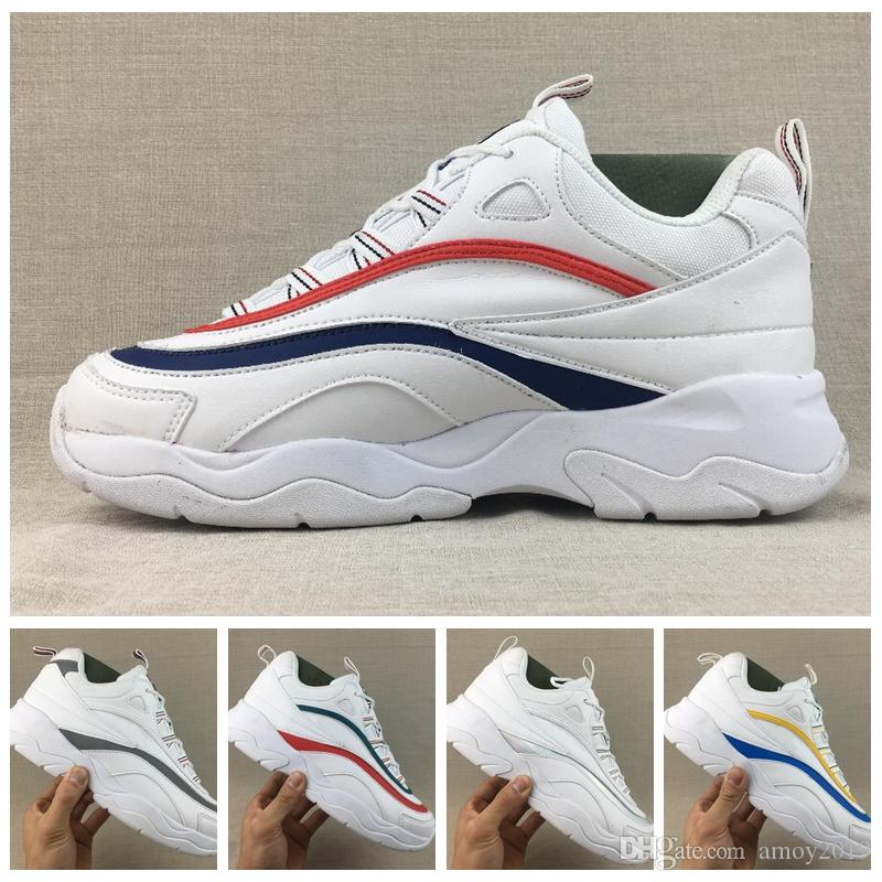 2018 Off Raf Simons Disruptors 2 Sawtooth Folder Ray luxury Custom Platform Sports women Casual Shoes Designer black white Brand Sneakers clearance eastbay hgq37
