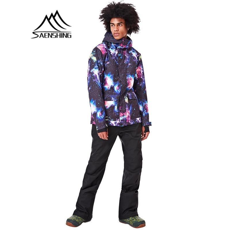 d3c8d8bf30ce SAENSHING New Ski Jacket Men Jacket Waterproof Winter Snowboard Warm ...
