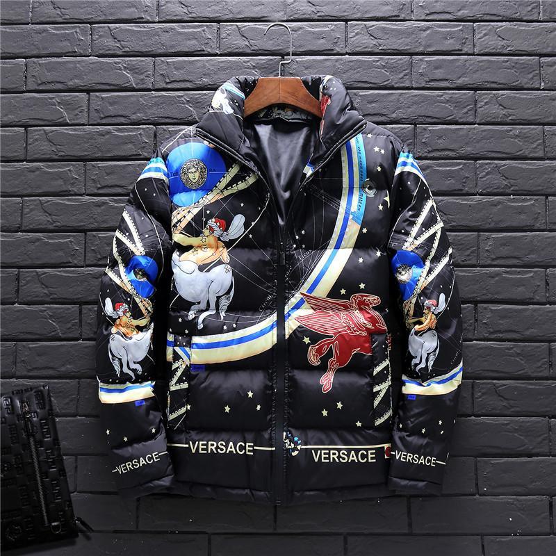 6a69e8e090 Mens Jacket Autumn Winter Designer Jacket Windbreaker Coat Zipper Fashion  Brand Coat Outdoor Sport Face Plus Size Men's Clothing