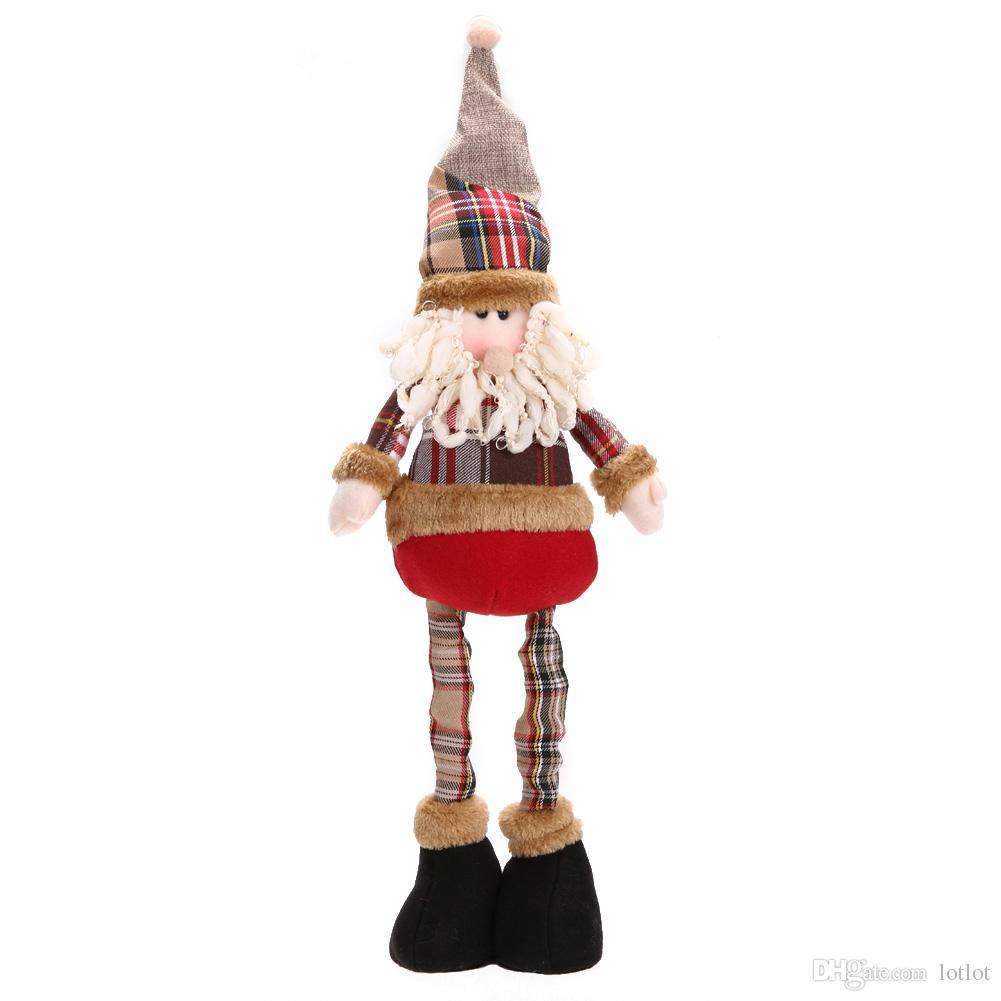Cadeau De Noël Père Noël Bonhomme De Neige Renne Poupée navidad Décorations De Noël pour La Maison Arbre De Noël Suspendus Ornements Pendentif Cadeau