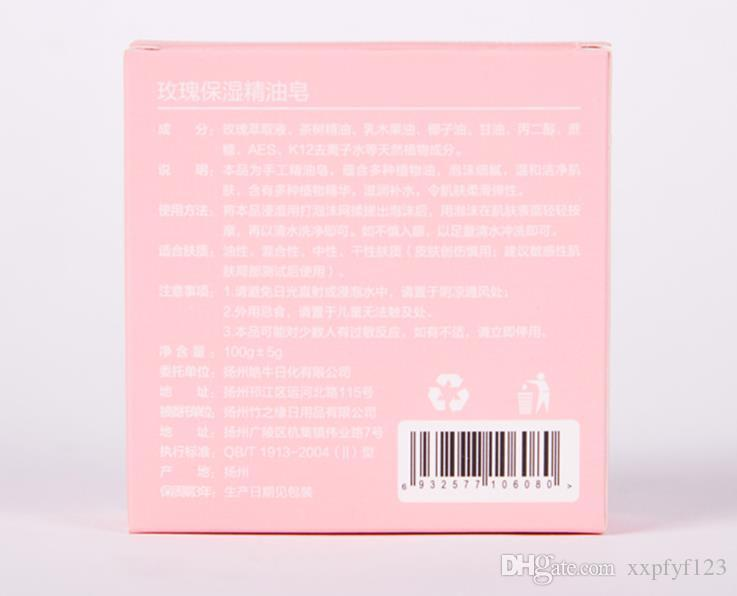Bath & Body Handmade soap wholesale rose essential soaps OEM processing bright white moisturizing cleansing soap A379