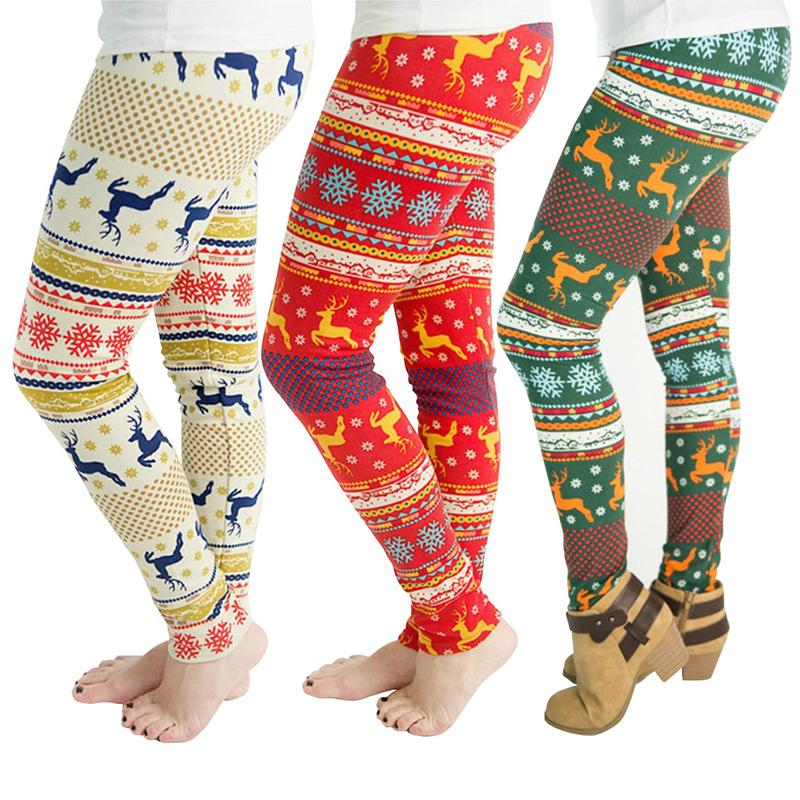 88f1cfa276dce6 2019 Women Long Pants Trousers Christmas Elk Snowflake Digital Print  Leggings Skinny Stretchy Pants Sexy Club Pencil Pants Yoga Joggers Pant 811  From ...