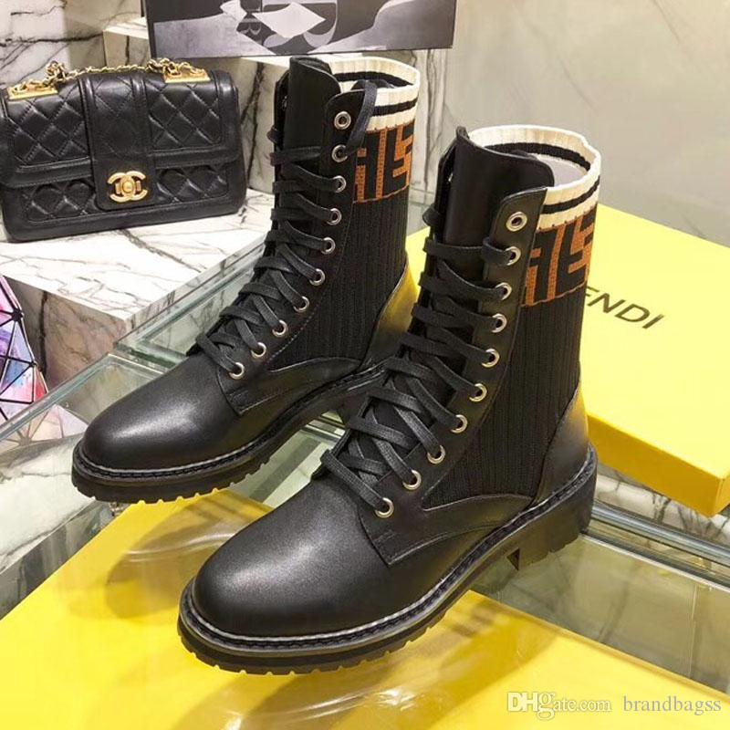 wholesale dealer ed7b8 2871b Frauen Winterstiefel arbeiten bootss Damen beiläufige Aufladungen Art und  Weiseluxuxdesigner Herbst und Winter arbeiten kurze Aufladungen A19 ...