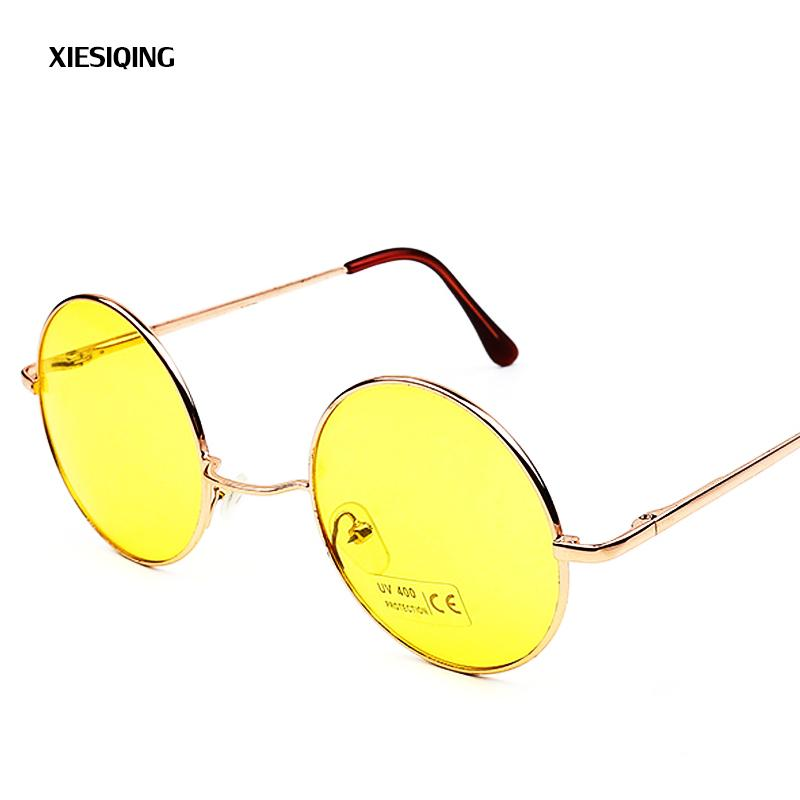2ac6f468857a5 Luxury Round Sunglasses Women Brand Designer 2018 Retro Sunglass Driving  Sun Glasses For Women Lady Men Female Sunglass Mirror Glasses Online  Polarized ...