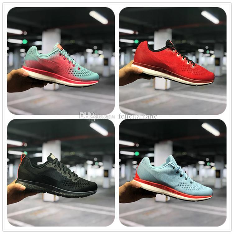 6062deacc33 2018 Zoom Pegasus 34 Zapatos De Diseño Para Mujer Para Hombre Zapatillas De  Running Cojín Moonfall Sport Zapatillas De Deporte Zapatillas De Deporte  Para ...
