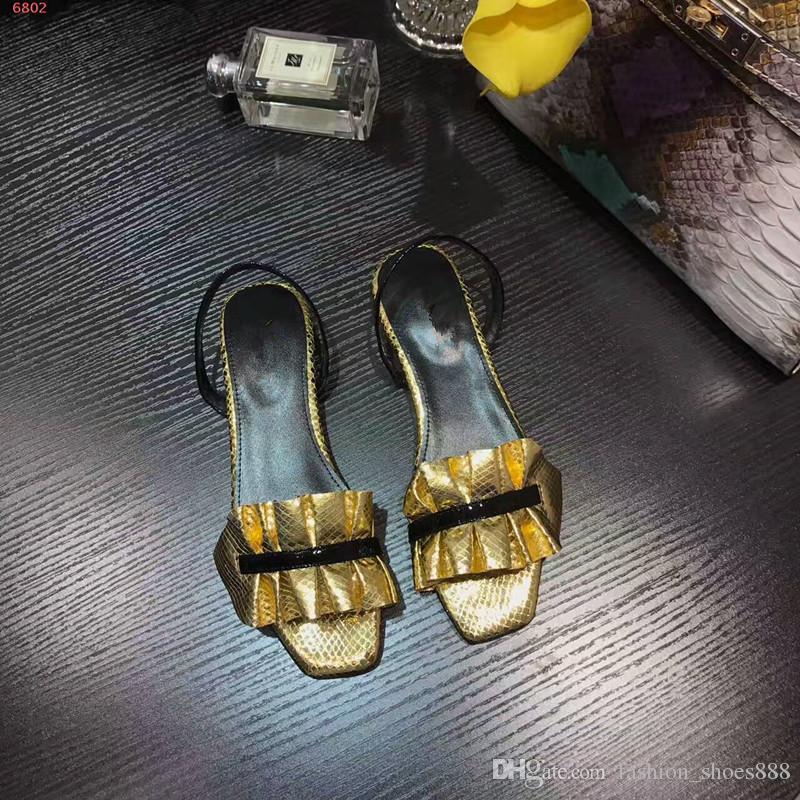 Sandálias de moda para as mulheres, tamanho 35-40, sandálias planas, três cores para a escolha, não hesite em contactar-nos para mais informações