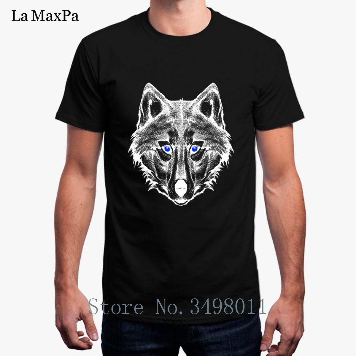 abb74a8d656b3 Top Quality Men T Shirt Savage Wolf Men S Tshirt Costume 100% Cotton Summer  2018 Homme T Shirt Man Plus Size Hip Hop T Shirt T Tee Shirts Online  Shopping ...