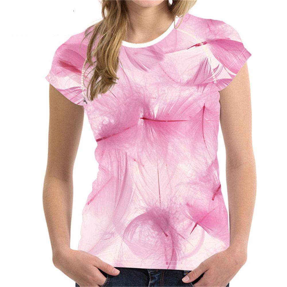 a9e6ec9d0088d Customized Women Pink T Shirt Womens T-Shirt Angel Wings Printing T-shirt  Teens Girls Ladies Funny bts kpop TShirt XXL