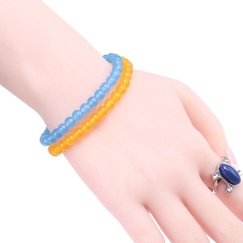 a86dfa127ce1 pulseras mujer moda 2018 Fashion Natural Stone Chalcedony Bracelet Men s  Sports Bracelets Bangles Woman Yoga Jewelry Accessories
