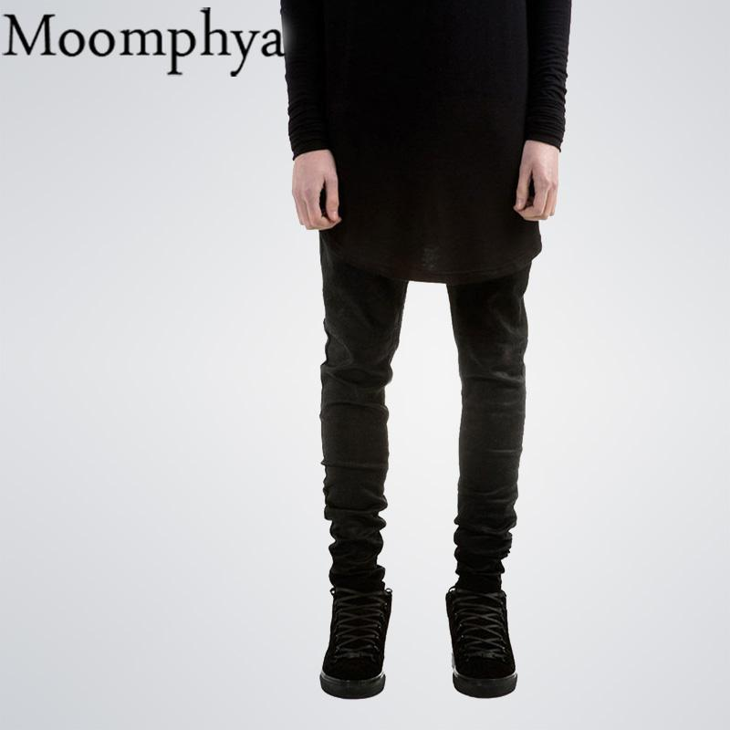 6e061d62 2019 Black Men Denim Jeans Skinny Jeans All Black Slim Fit Straight Jeans  Men Solid Color High Street Biker Jean From Netecool, $38.26 | DHgate.Com