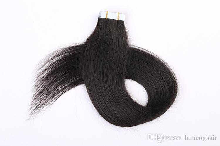 Good Hair Tape In Human Hair Extensions Straight Brazilian Non Remy