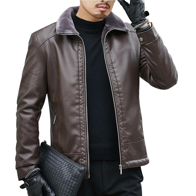 31cd07249b4 Winter Fur Leather Jacket Mens Plus Size Suede Leather Jackets Men Faux Fur  Thick Warm Long Suede Jacket Cheap Jackets Spring Jacket From Xaviere