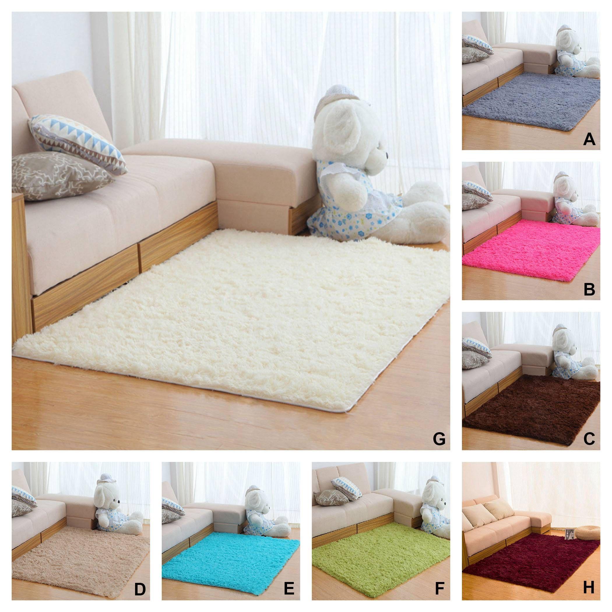 Kinds Superfine Fiber Rectangle Carpet Anti Skid Yoga Floor Mat ...