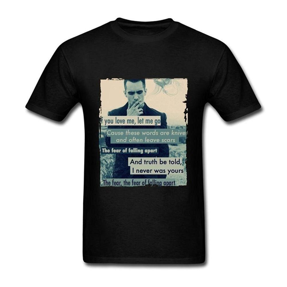 ce9f65579 Satın Al Panik Disko Tırnaklar Erkek T Shirt Gevşek Kısa Kollu Yaz Moda Erkek  T Shirt Yeni Moda Erkekler Için Kısa Kollu, $10.99 | DHgate.Com'da