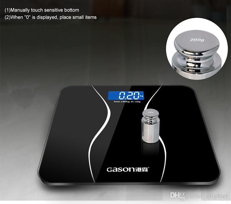 45706d72b971 Smart lcd Display Household Floor Scales Body Electronic Digital Bathroom  Weighing Weight Scale Balance Machine Hot Selling