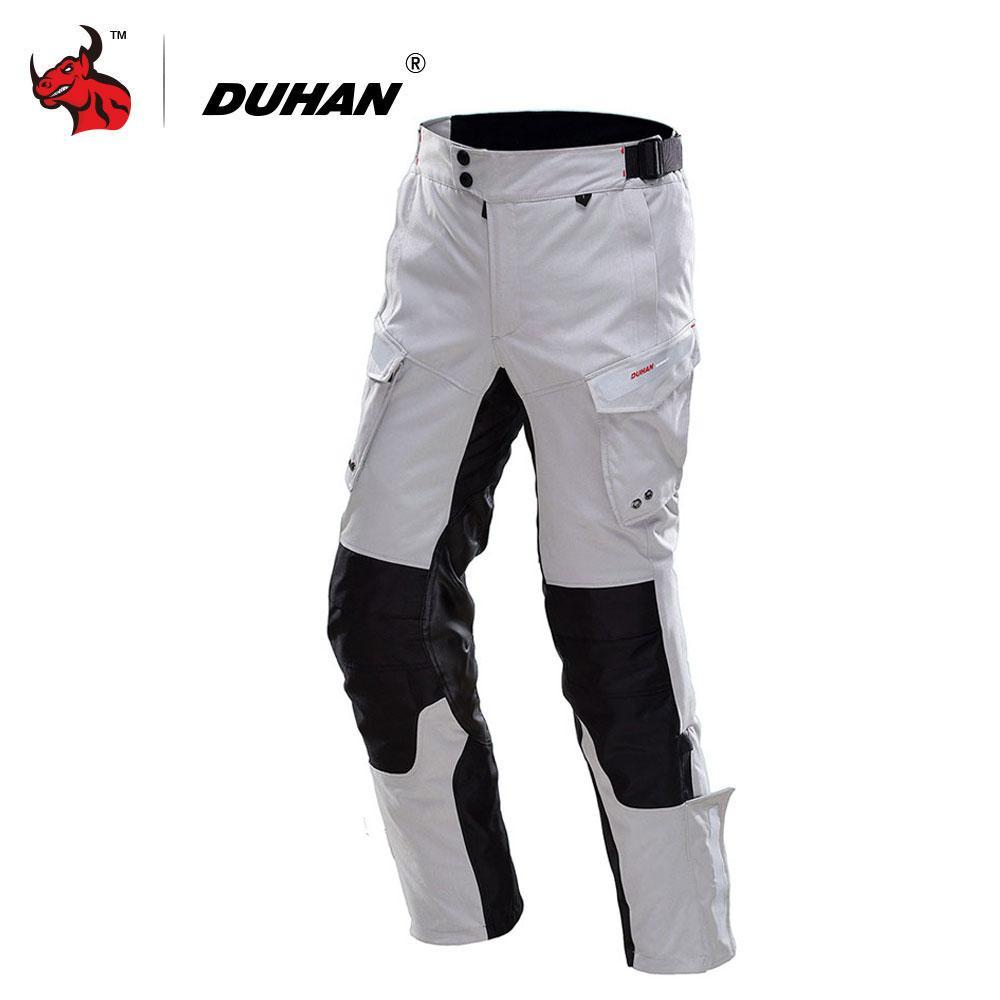 957b7176871af Compre DUHAN Pantalones De Motociclista Hombres Pantalones Impermeables Moto  Otoño Invierno Moto Motocross Off Road Protective Gear Pantalon Moto A   139.16 ...