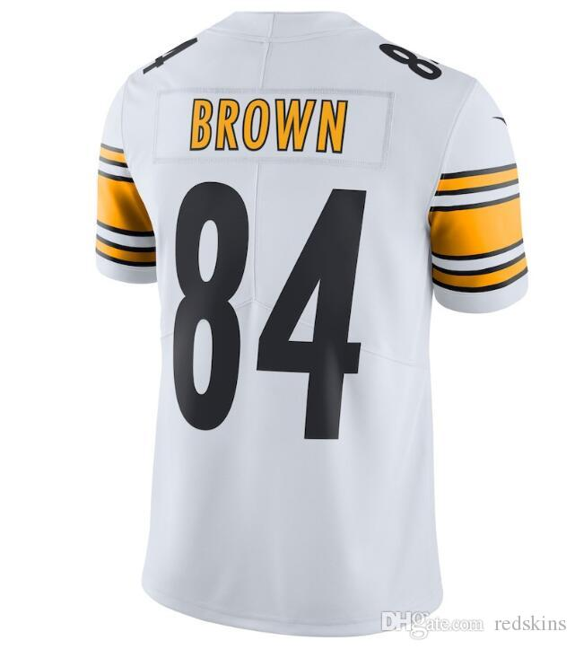 c20dd284c34 Antonio Brown Jersey JuJu Smith-Schuster James Conner Le Veon Bell  Personalized Sport Authentic American Football Jerseys Stitched Shirts 4x Antonio  Brown ...