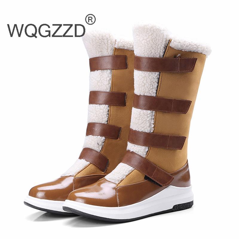 Nieve Pu Invierno Mujer Nuevo Compre Lana De 2019 Zapatos Botas 87wXppqOWA