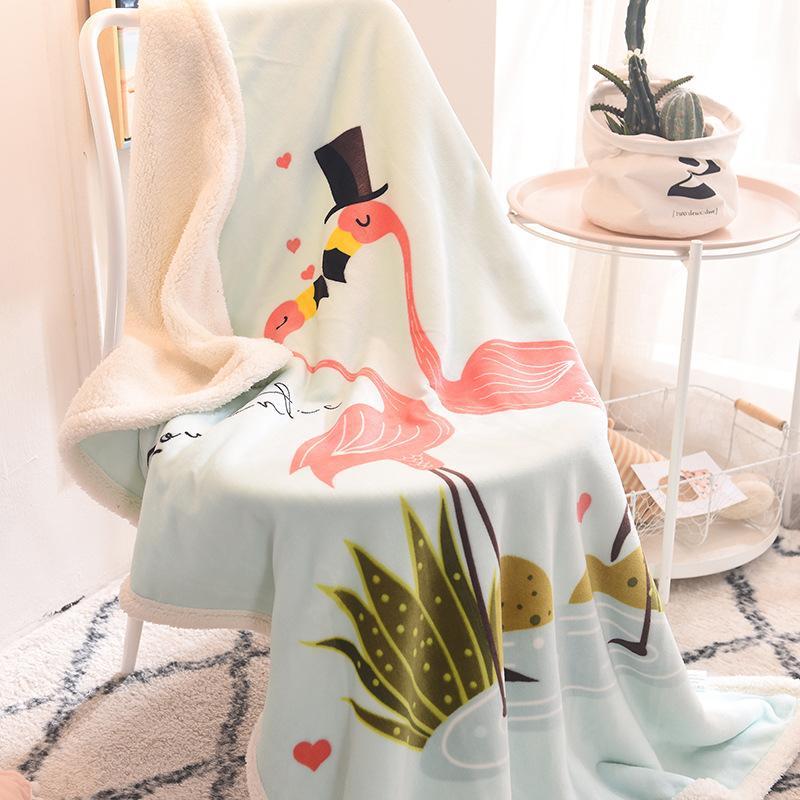Großhandel 100 140 Cm Decke Winter Baby Swaddle Wrap Decken Herbst