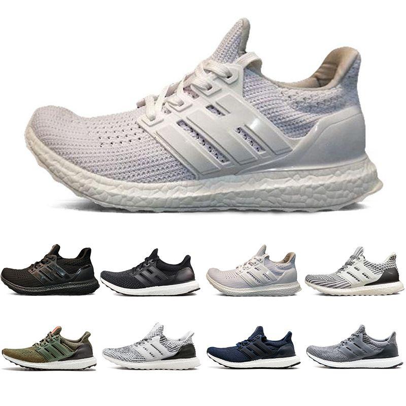 802e69474 2019 Ultra Boost 4.0 3.0 Running Shoes Triple Black White CNY ...