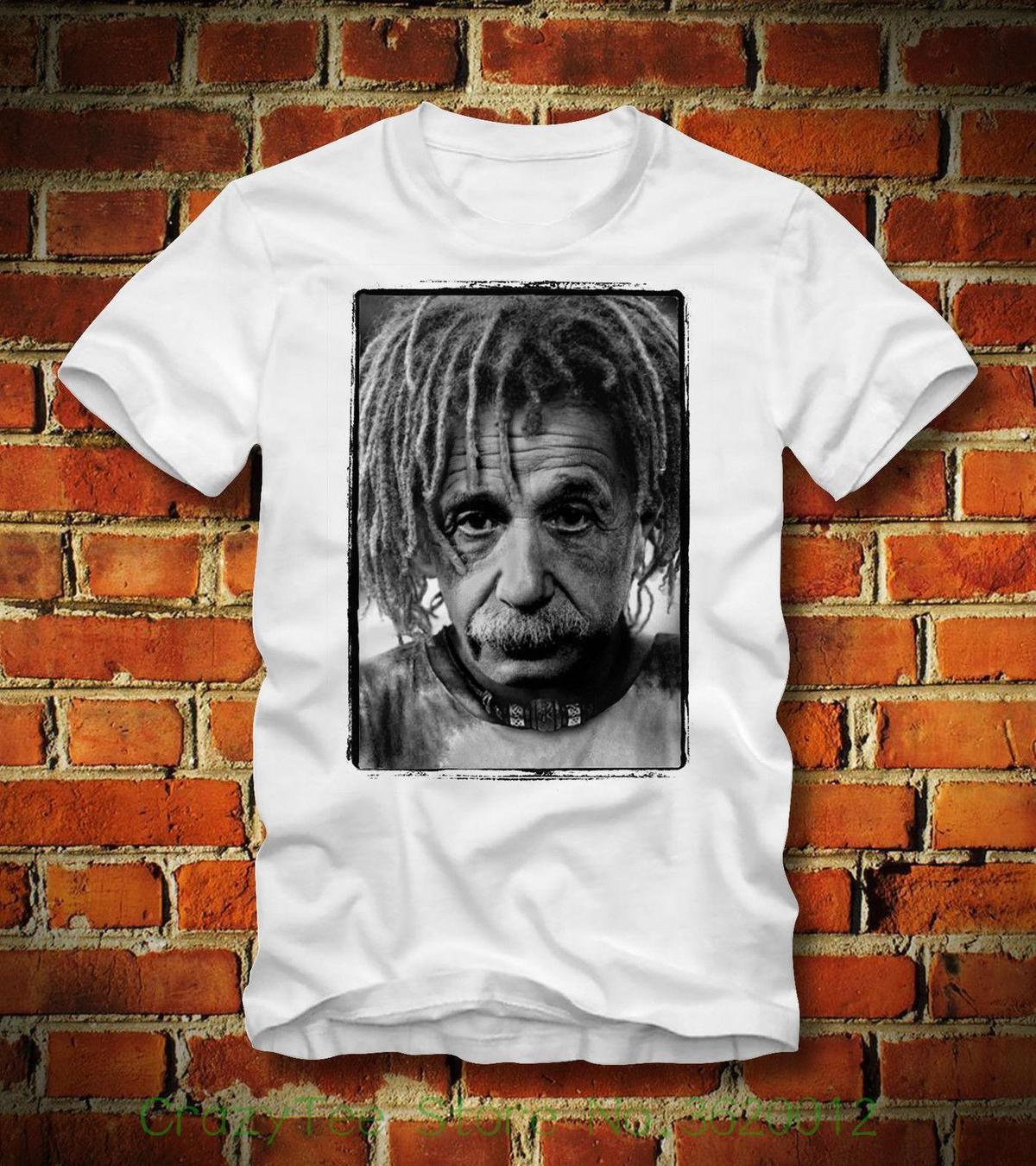 2abdc6044 Compre T Camisa Boardrippaz Das Mulheres Albert Einstein Rasta Geek Nerd  Physik Gravitaswellen Impressão Camiseta De Algodão De Yuxin0001