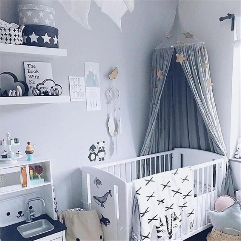 Grosshandel Baby Bett Vorhang Kinder Zimmer Dekoration Krippe Netting