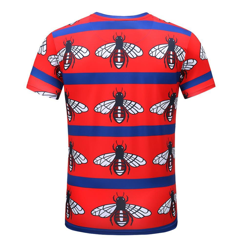 M-L-XL Boys Orange or Poppy Red Short Sleeve Crew Neck T-Shirt
