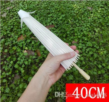 Gelin Düğün Kağıt Şemsiyeler Şemsiye El yapımı Düz Çinli Mini Craft Şemsiye Asma Süsler Çapı için: 20-30-40-60cm HH7-993