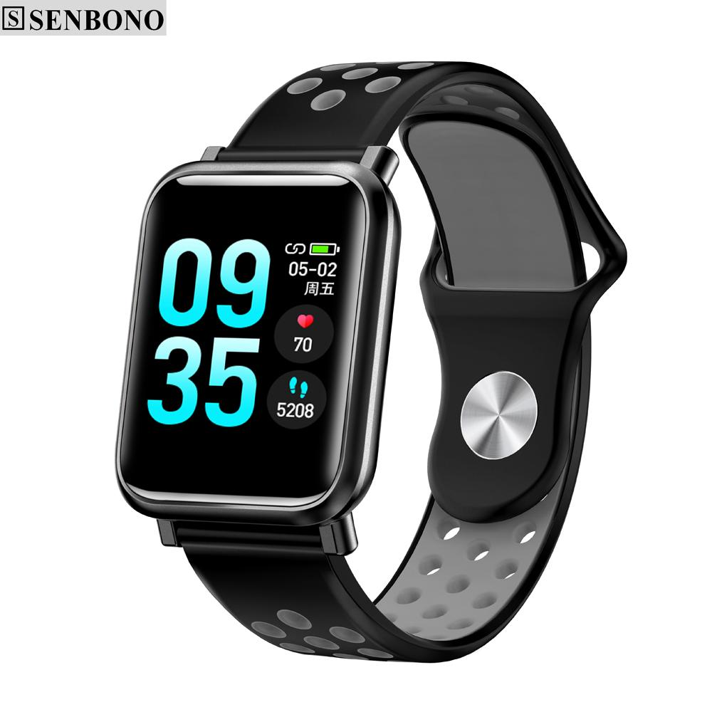 7e81a13f9efc6d SENBONO M8 Pedometer Sport Smartwatch Color Screen Heart Rate Sleep Monitor  IP67 Waterproof Fitness Tracker Smart Watch Basis Smart Watch Best  Smartwatch ...