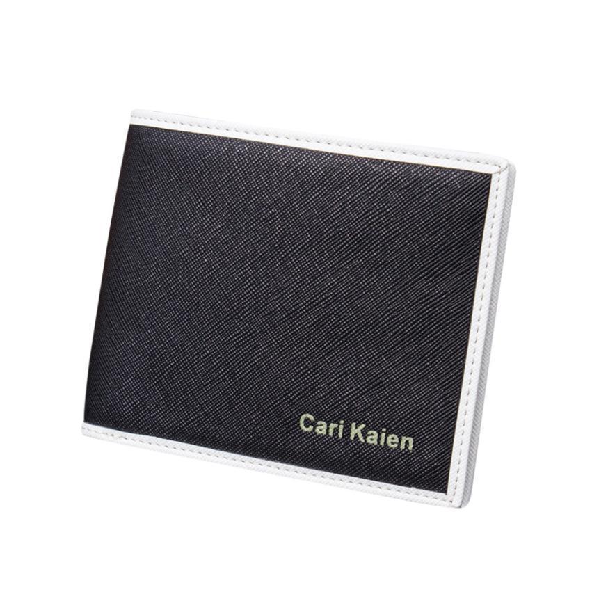 ead3da48a629f Xiniu Man Synthetic Leather Wallet Pocket Clutch Bifold Standard ...