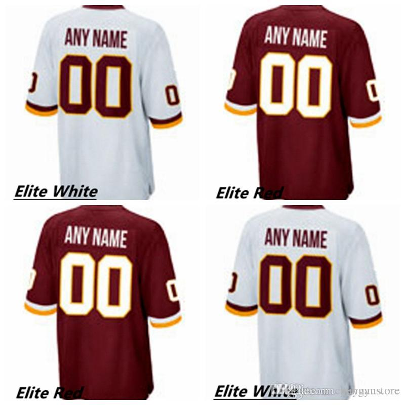 3e95e592f02 men'S Washington Redskin Custom Elite Football Jerseys/High Quality &  Stitched/Any Name And Number You Decide/Two Colors Allo From Chengyustore,  ...