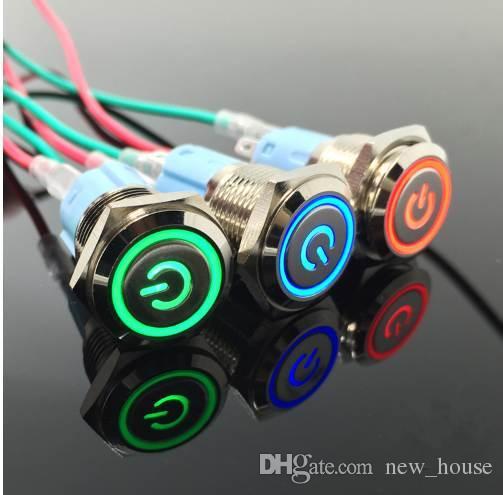 Compre 1 Unids Interruptor De Bot 243 N Impermeable De Metal