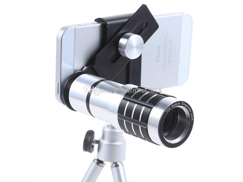 Fernrohr astronomie universal clip auf 12x zoom optisches teleskop