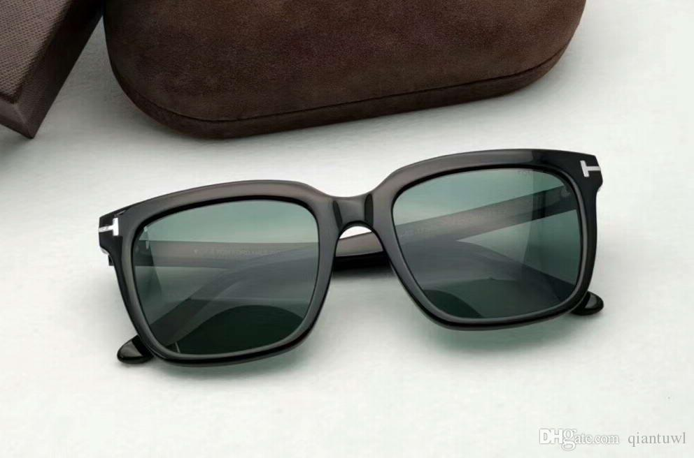 0c43cc8e0a2c7 MARCO Black Green Square Sunglasses FT 0646 Sonnenbrille Luxury Designer  Sun Glasses For Women Women Glasses With Box Police Sunglasses Serengeti  Sunglasses ...