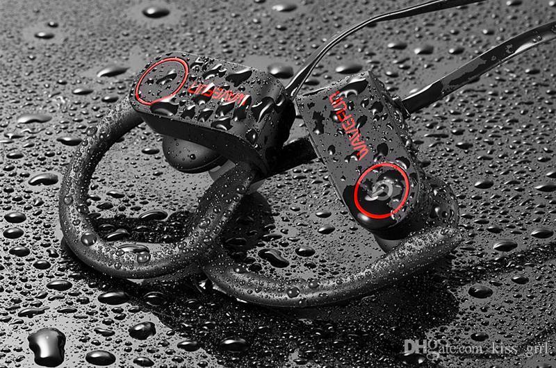 Nueva llegada Wavefun auriculares bluetooth IPX7 auriculares inalámbricos a prueba de agua deportes bajo bluetooth auriculares con micrófono para el teléfono iPhone xiaomi
