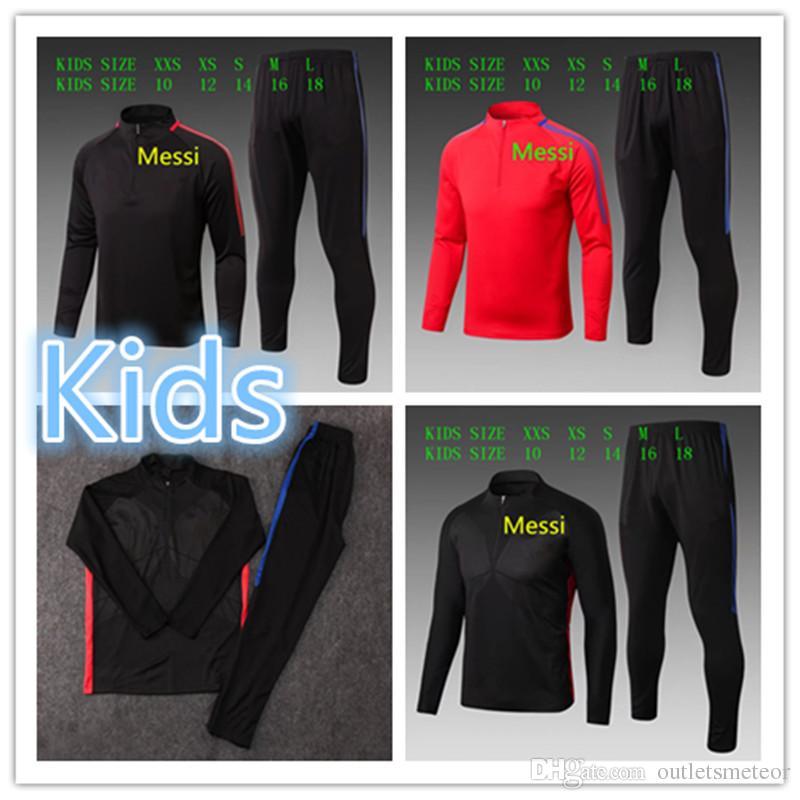 ae69f18e6f074 Compre 17 18 Entrenamiento De Ropa Para Niños Messi Kids