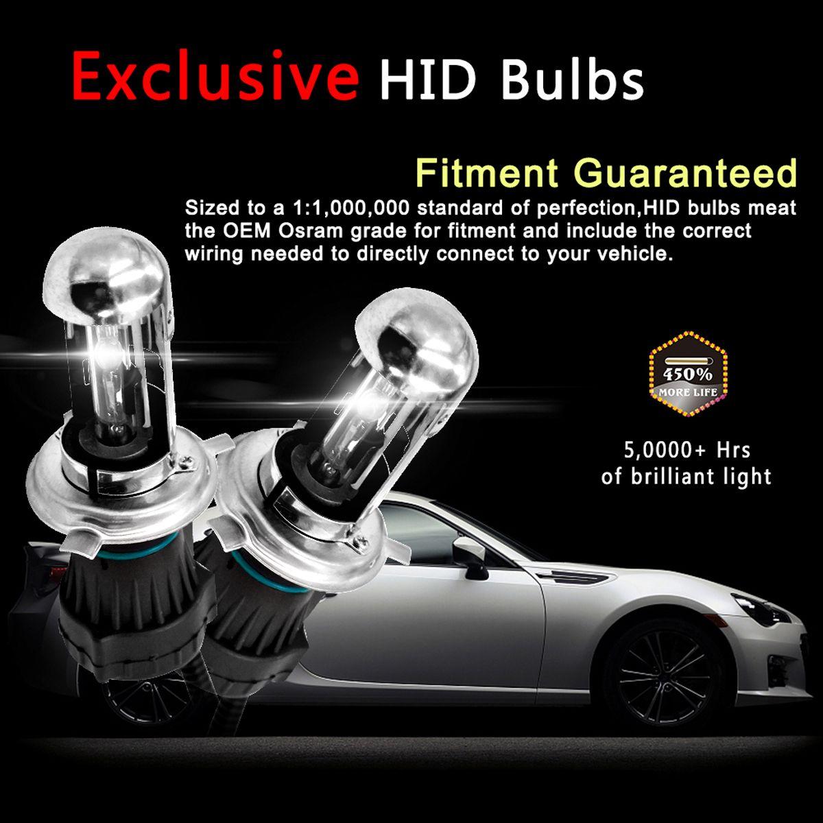 H4 12v 35w Hid Car Headlight Xenon Lights Retractable Headlights