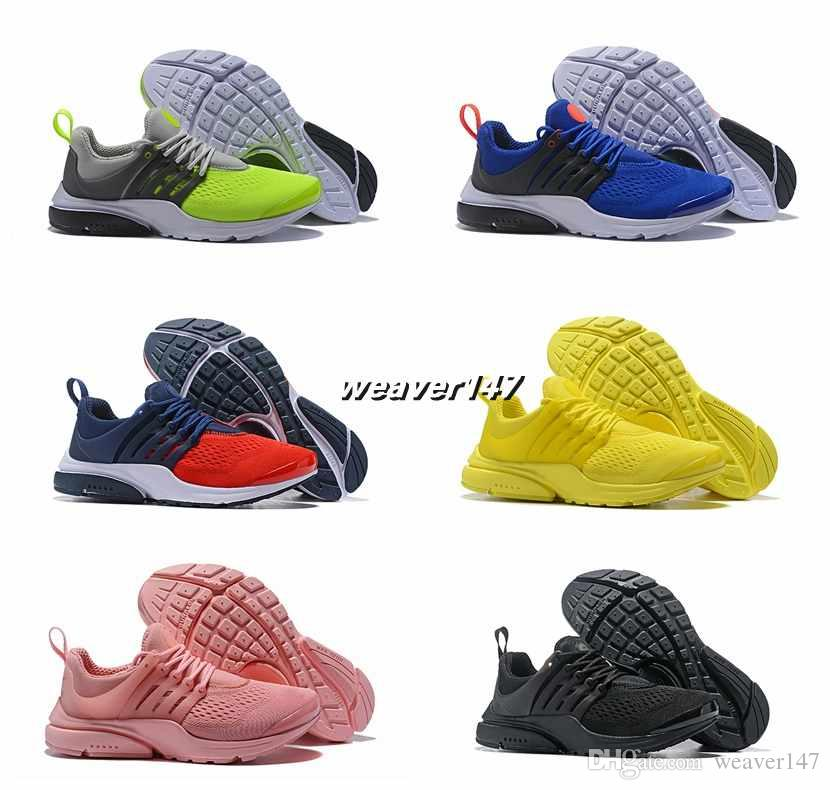 2018 New Designer Presto 5 Ultra QS BR Breathe Running Sports Shoes Women  Mens Trainers Prestos Chaussures Yellow Pink Blue Sport Sneakers Running  Shoes ... 3e7a97dcb
