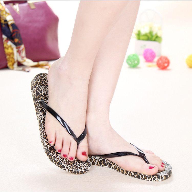 Women Sandals 2018 Summer New Open Toed Fish Head Fashion Platform High  Heeled Leopard Non Slip Beach Herringbone Ladies Sandals Girls Sandals From  Kay5225 41b835095deb