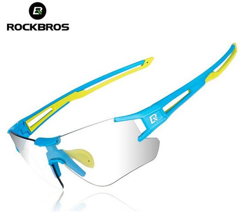 83b85663e0 ROCKBROS Photochromic Cycling Glasses Bike Bicycle Glasses Sports ...