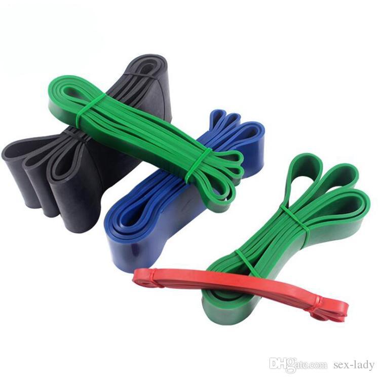 208 cm Bandas De Resistência Definir Borracha Puxar Para Cima Equipamentos de Fitness Poder Banda De Látex Banda Loop Strap Ginásio Treinamento de Força Esporte Brinquedos