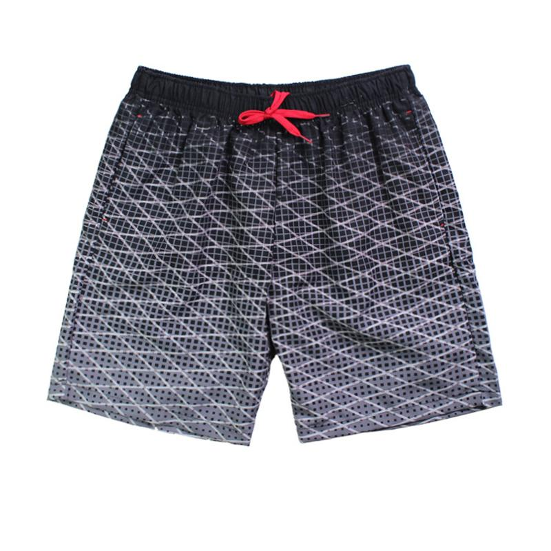 5945f7fb8e744 Pocket Printed Quick Dry Swimsuit Men Swimwear Shorts Swimming ...